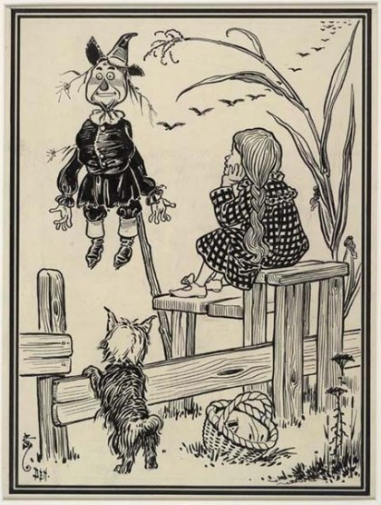 452px-Dorothy_and_the_Scarecrow_1900