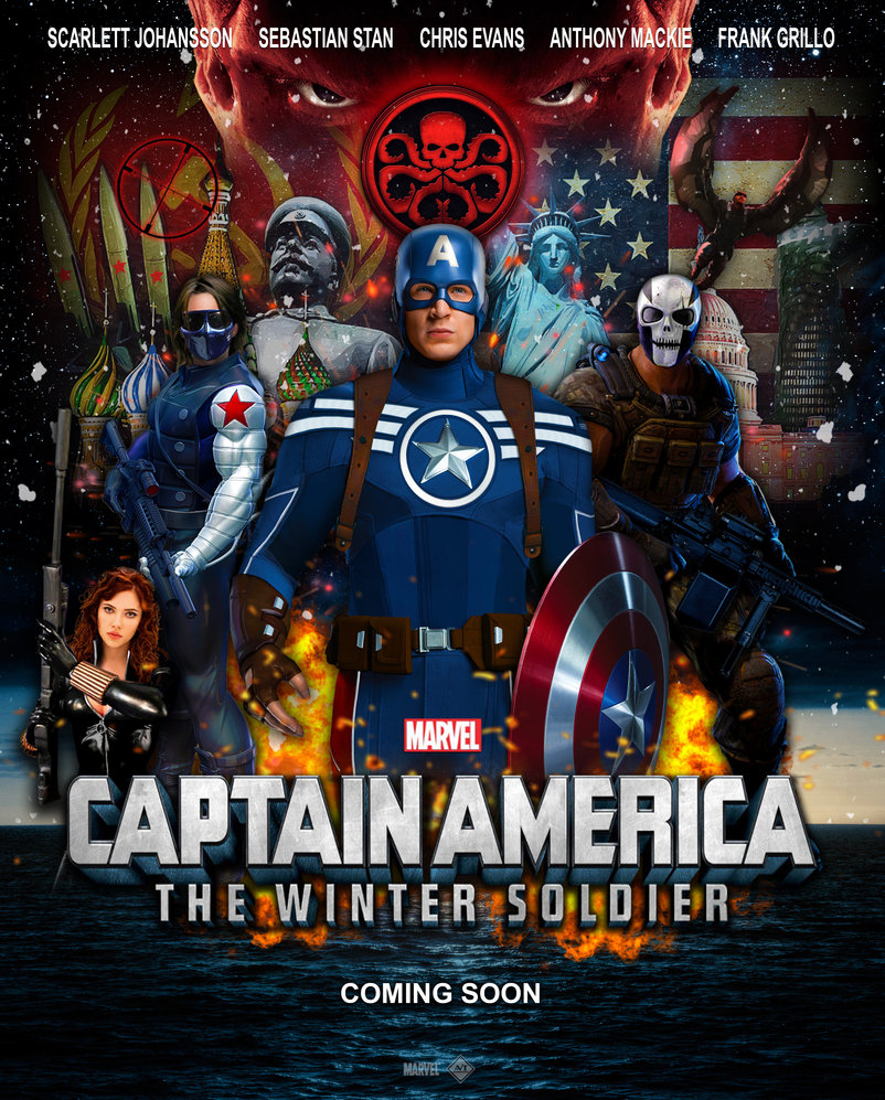 Awesome captain america the winter soldier hd wallpaper free download.