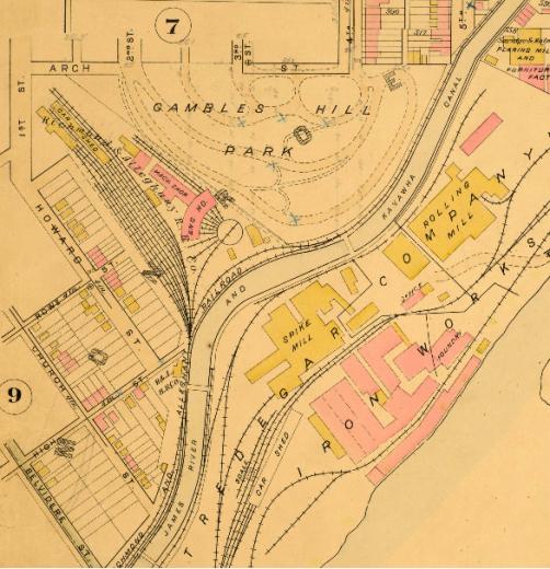Baist_Atlas_of_Richmond_VA_1889-Penitentiary basin