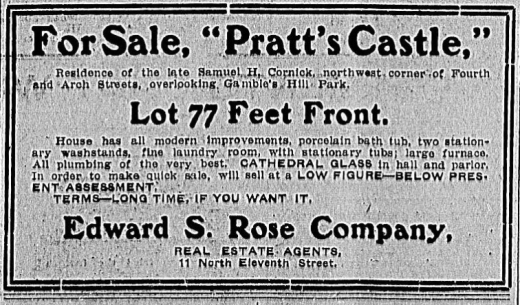 Pratts Castle, July 1 1906 Times Dispatch