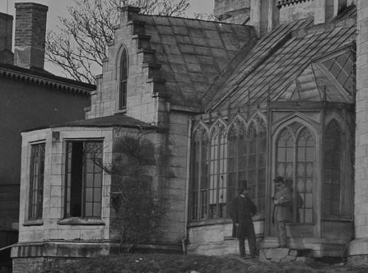 Pratt's Castle (detail) National Archives
